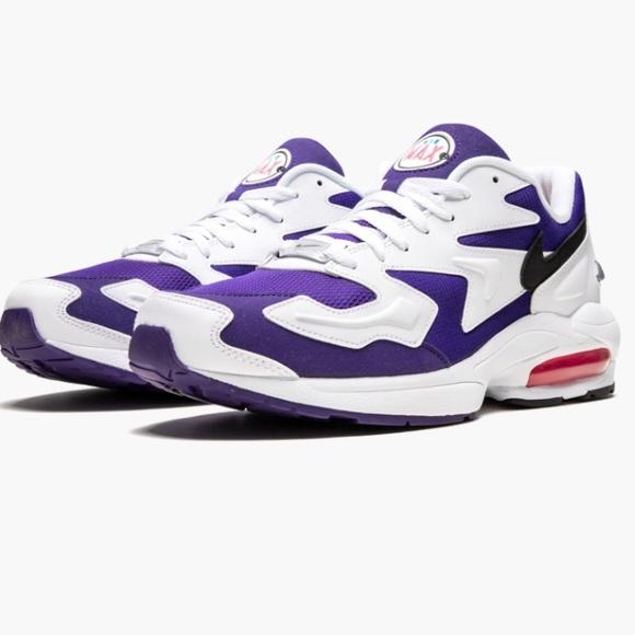 Nike Air Max 2 Light purple white NWOB mens 14 NWT